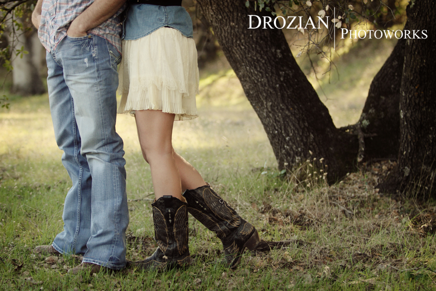 Red Bluff Engagement: Aubrie and Luke » Drozian Photoworks