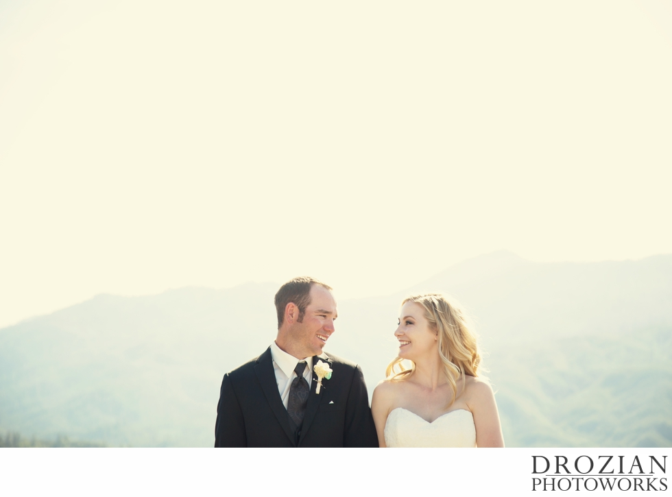 Desirae And Chris Wedding At Shasta Dam In Redding Ca