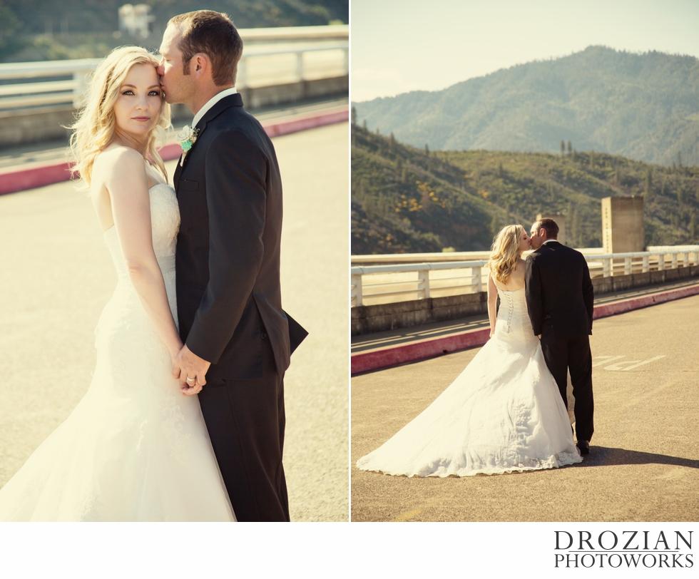 Shasta Dam Redding Wedding 02